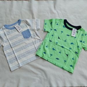 NWT Children's place tshirts size 12-18 months